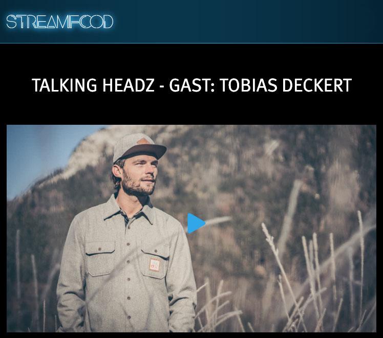 Talking headz streamfood tobi deckert